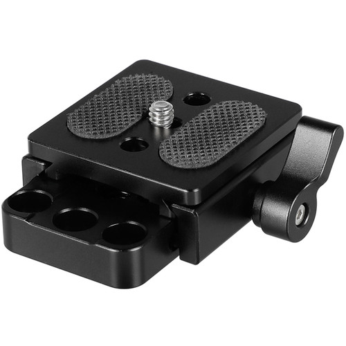 """CAMVATE Arca-Style Quick Release Sliding Plate With 1/4"""" Mount"""