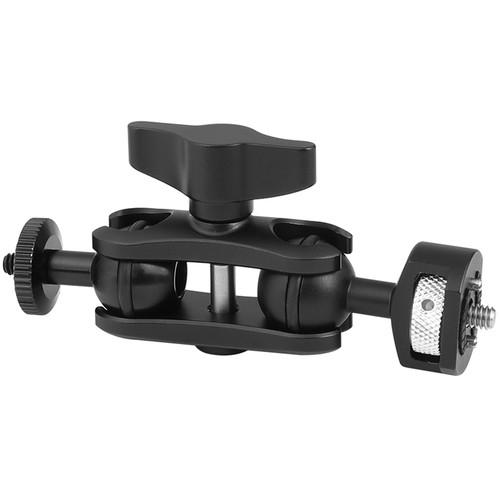 "CAMVATE Versatile Magic Arm Ball Head Mount With 1/4""-20 Thread And Arri Locating Pins"