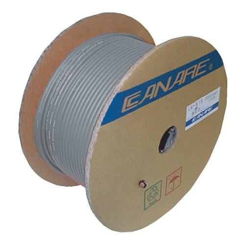 Canare 4S11 4-Conductor Speaker Bulk Cable (328', Gray)