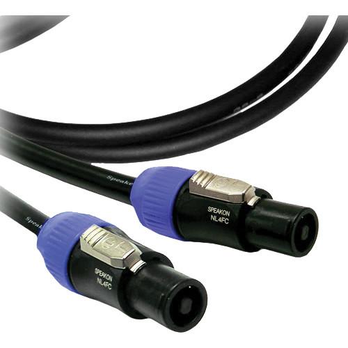Canare 4S11 Starquad 4-pole Speakon Cable - 100'