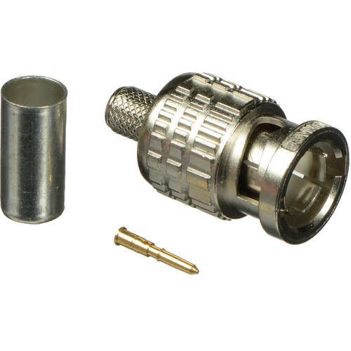 Canare BCP-A4 75-Ohm BNC Crimp Plug for LV-61S Cable (Straight Type)