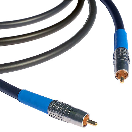 Canare Premium Powered RCA to RCA Subwoofer Cable (1')