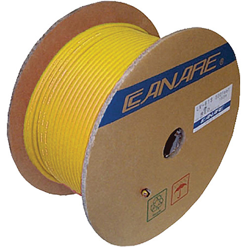 Canare L-4CFB RG59 HD-SDI Coaxial Cable (984', Yellow)