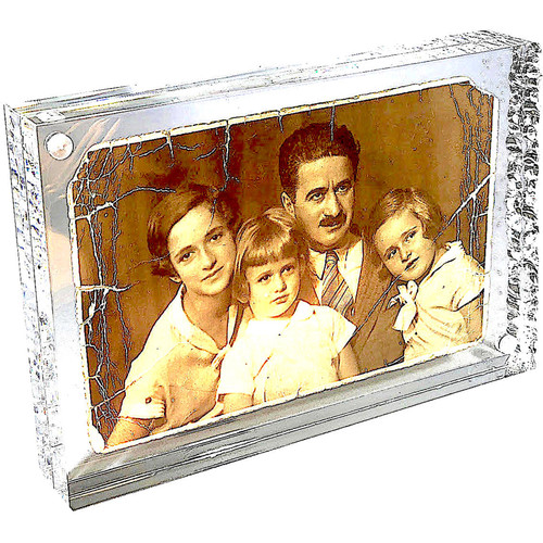 """Canetti Design Group Crystal Magnet Frame (4 x 6"""")"""