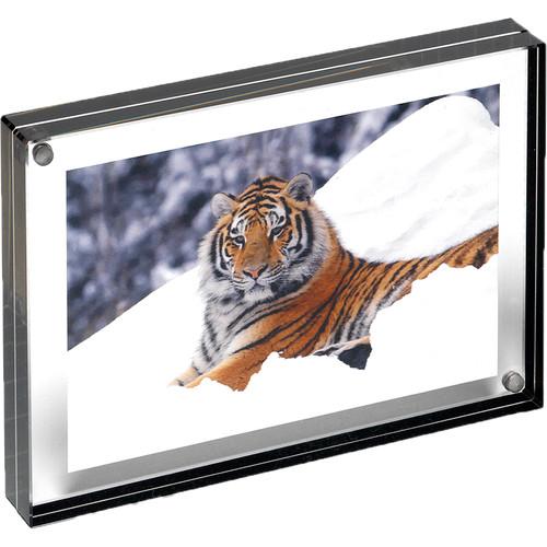 "Canetti Design Group Graphite Edge Magnet Frame (4 x 4"")"