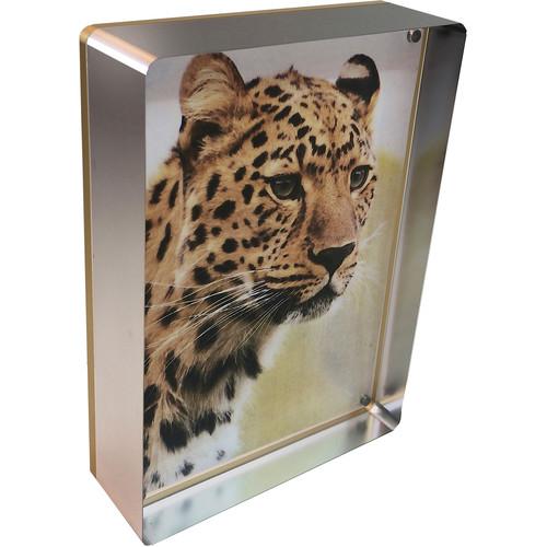 "Canetti Design Group Prestige Magnet Frame (5 x 7"", Silver)"