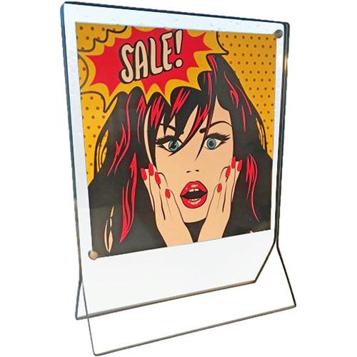 "Canetti Design Group Slim Magnet Frame (6 x 6"", Graphite)"