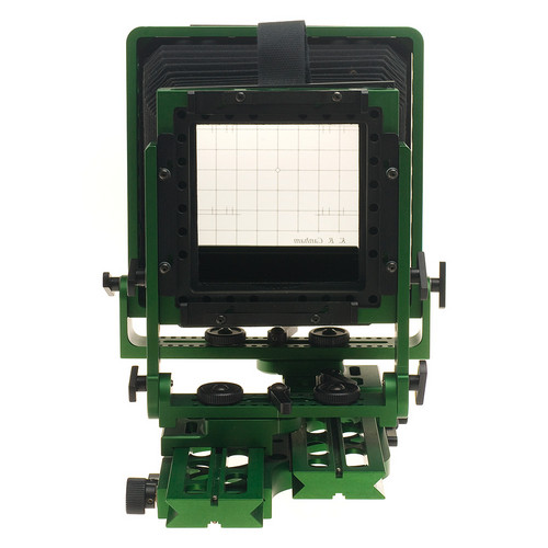 "KB Canham 4x5"" Field DLC G3 (Green) Large Format Camera (without Lensboard)"