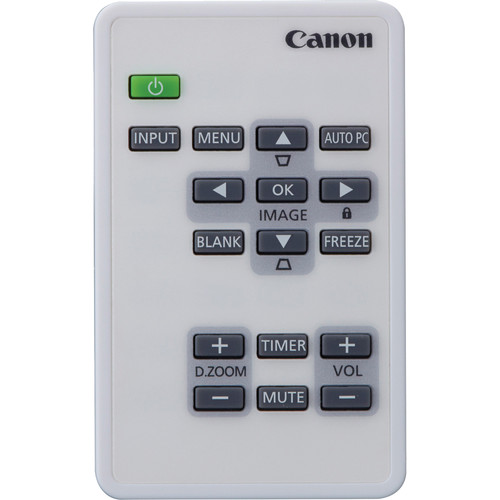 Canon LV-RC08 Remote Controller for LV-WX300ST Projector