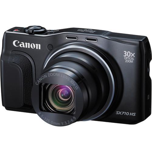 Canon PowerShot SX710 HS Digital Camera (Black)