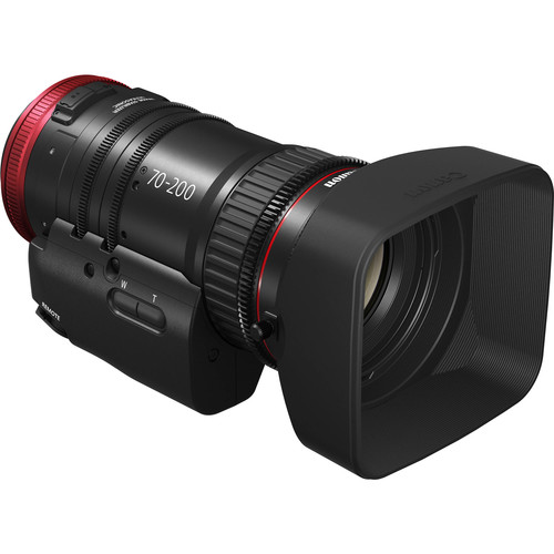 Canon CN-E 70-200mm T4.4 Compact-Servo Cine Zoom Lens with Serial Port (EF Mount)