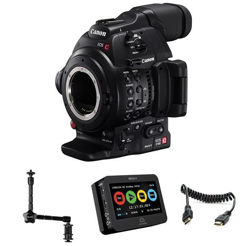 Canon EOS C100 Mark II Cinema EOS Camera and Atomos Ninja 2 Kit