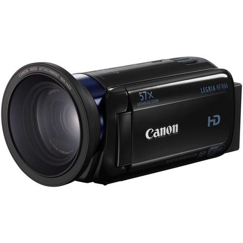 Canon LEGRIA HF R66 Full HD Camcorder with 8GB of Internal Memory (PAL, Black)
