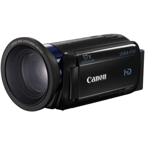 Canon LEGRIA HF R67 Full HD Camcorder with 8GB of Internal Memory (PAL, Black)