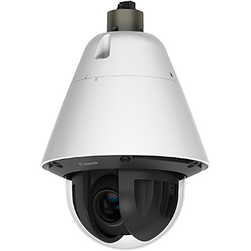Canon VB-R11VE 1.3MP Vandal Resistant Outdoor Speed Dome Network Camera with 4.4 to 132mm Varifocal Lens and Audio Connectivity