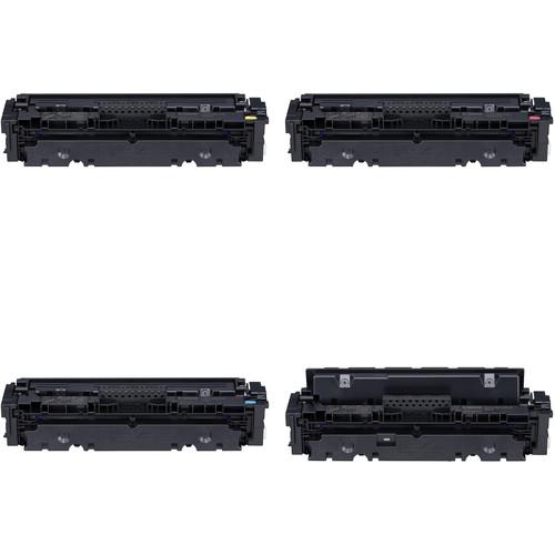 Canon 046 Standard-Capacity Color / High-Capacity Black Toner Cartridge Kit (Cyan, Magenta, Yellow, Black)