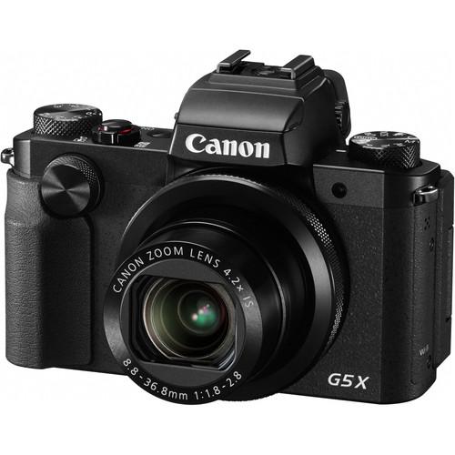 Canon PowerShot G5 X Digital Camera with Flash Kit