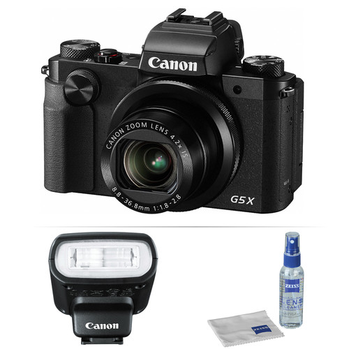 Canon PowerShot G5 X Digital Camera with Flash Kit