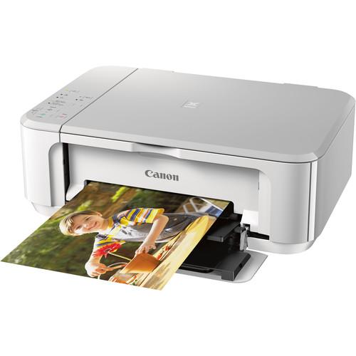 Canon PIXMA MG3620 Wireless All-in-One Inkjet Printer (White)