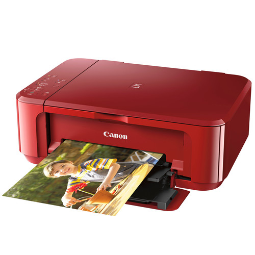 Canon PIXMA MG3620 Wireless All-in-One Inkjet Printer (Red)
