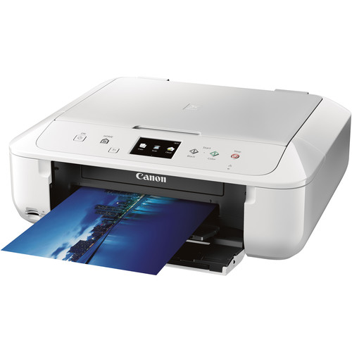 Canon PIXMA MG6820 Wireless Photo All-in-One Inkjet Printer (White)