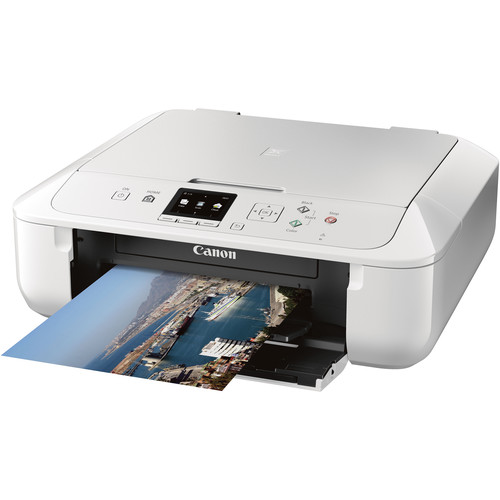 Canon PIXMA MG5720 Wireless All-in-One Inkjet Printer (White)