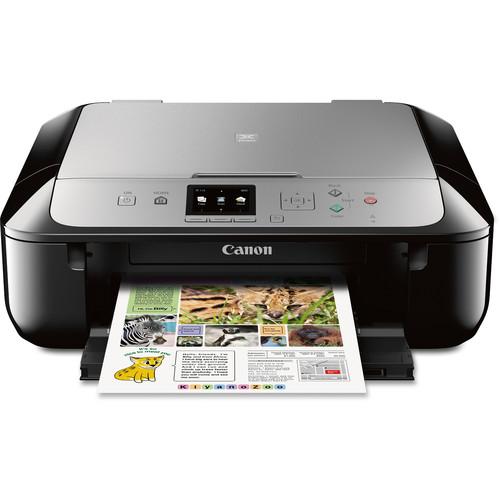 Canon PIXMA MG5721 Wireless All-in-One Inkjet Printer (Black/Silver)