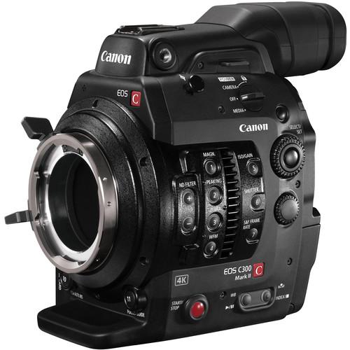 Canon Cinema EOS C300 Mark II Camcorder Body (PL Lens Mount)