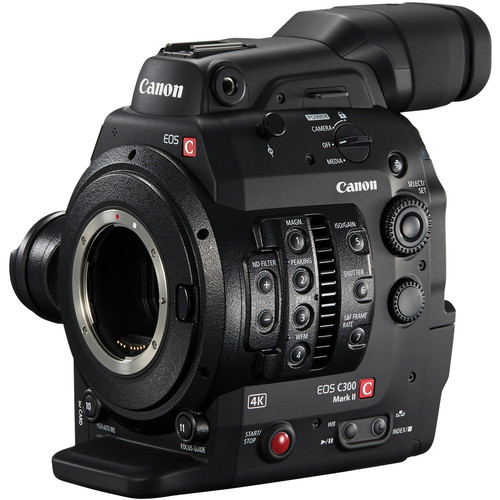 Canon Cinema EOS C300 Mark II Zacuto ENG Package (EF Mount)