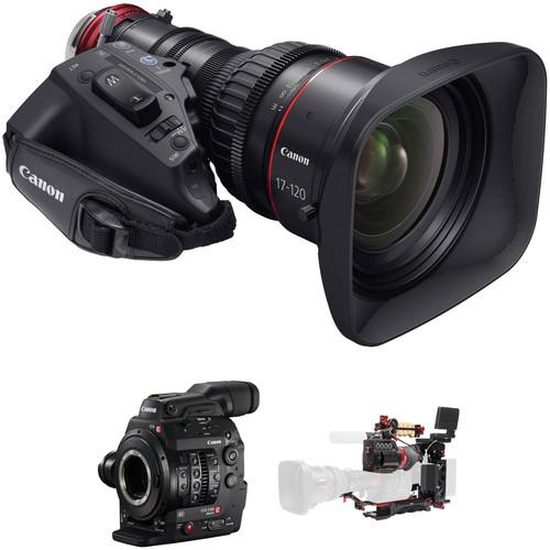 Canon Cinema EOS C300 Mark II Zacuto ENG Package (EF Mount)