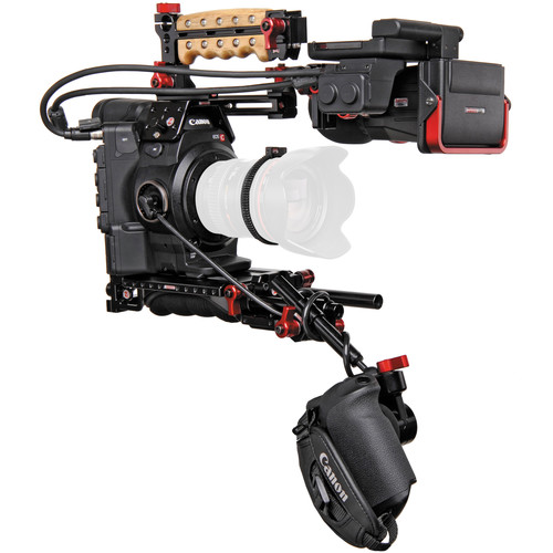 Canon EOS C300MK II with Zacuto Z-Finder Kit (EF Mount)