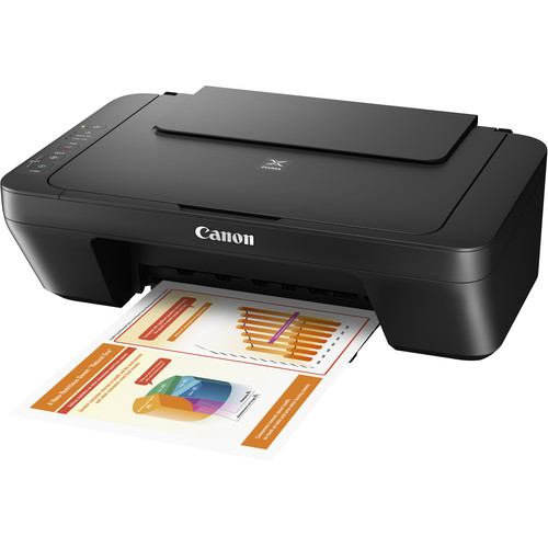 Canon PIXMA MG2525 All-in-One Inkjet Printer (Black)