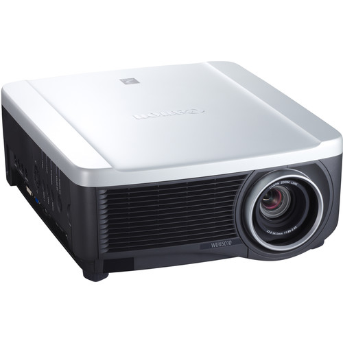 Canon REALiS WUX6010 6000-Lumen WUXGA LCoS Projector with 1.5x Zoom Lens