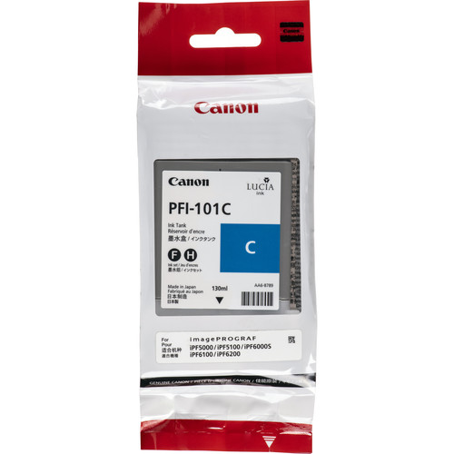 Canon PFI-101C Cyan Ink Tank (130 mL)
