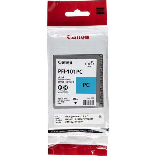 Canon PFI-101PC Photo Cyan Ink Tank (130 mL)