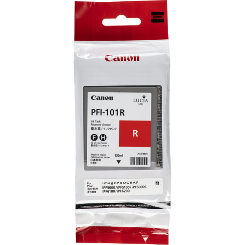 Canon PFI-101R Red Ink Tank (130 mL)
