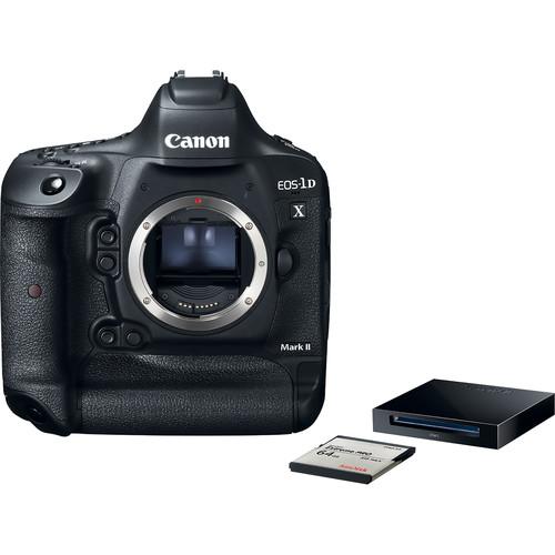 Canon EOS-1D X Mark II Body with CFast Card & Reader