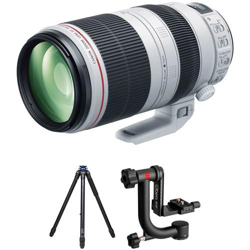 Canon EF 100-400mm f/4.5-5.6L IS II Lens Wildlife Kit