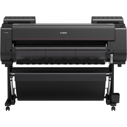 """Canon imagePROGRAF PRO-4000 44"""" Professional Photographic Large-Format Inkjet Printer with Multifunction Roll System"""