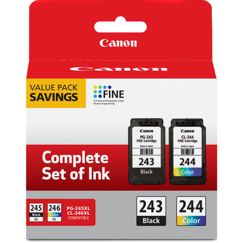 Canon PG-243/CL-244 Value Pack