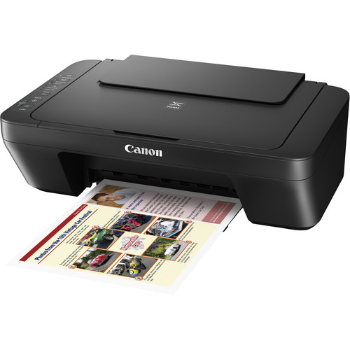 Canon PIXMA MG3020 Wireless All-in-One Inkjet Printer (Black)