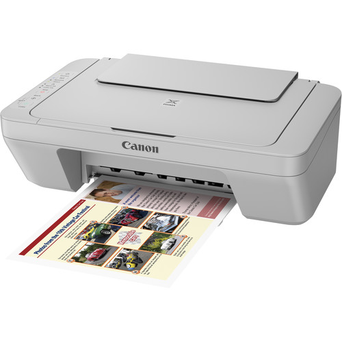 Canon PIXMA MG3020 Wireless All-in-One Inkjet Printer (Gray)