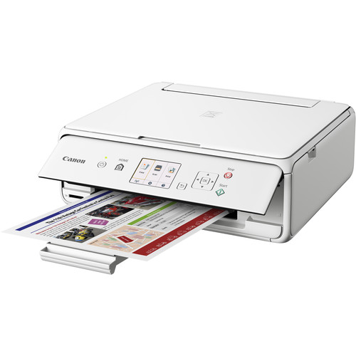 Canon PIXMA TS5020 Wireless All-in-One Inkjet Printer (White)