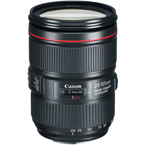 Canon EF 24-105mm f/4L IS II USM Lens (White Box)