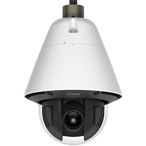 Canon VB-R13VE 2.1 MP Vandal-Resistant Outdoor PTZ Dome Network Camera