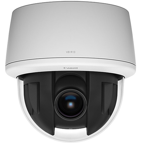 Canon VB-R13 2.1 MP PoE PTZ Speed Dome Network Camera with 30x Optical Zoom Lens