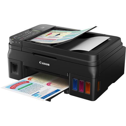 Canon PIXMA G4200 Wireless MegaTank All-in-One Inkjet Printer