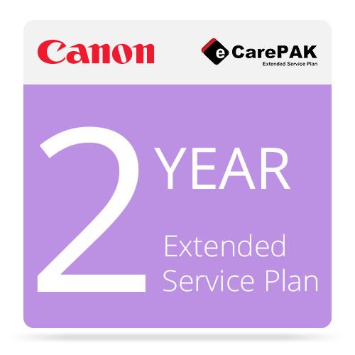 Canon 2-Year eCarePAK Extended Service Plan for TM-200 Printer & L24ei Scanner
