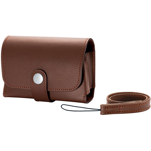 Canon Deluxe Leather Fitted Case PSC-5600 for PowerShot G9-X Camera (Brown)