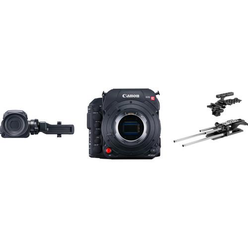 Canon C700 GS Cine Camera Kit with ARRI 19mm Cine Pro Set (PL Mount)